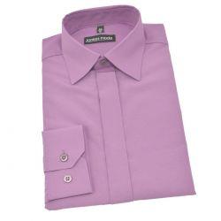 Koszula chłopięca fioletowa