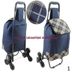 Wózek na zakupy, torba na kółkach,  SCHODOWY