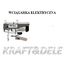 Wyciągarka elektryczna YT-250/500Model KD1525 [Kraft&dele]