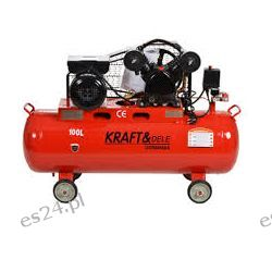 Kompresor olejowy sprężarka 100l KD402