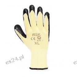 Rękawice robocze RSK dziane powlekane 2 kolory - 120 par [Kraft&dele]
