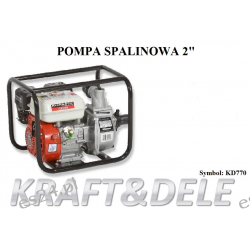 """Pompa Spalinowa 2 """" KD770"""