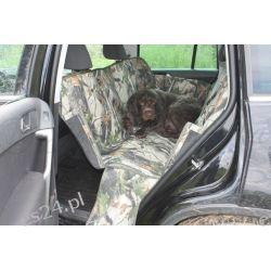 Mata samochodowa do przewożenia psa, zielona cordura