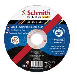 Tarcza Do Cięcia Metalu 125x1,0 Schmith