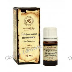 Olejek Geraniowy, 100% Naturalny, Aromatika, 10 ml