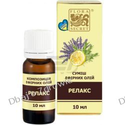 Kompozycja Naturalnych Olejków Eterycznych Relaksacyjna, 100% Naturalna, 10 ml