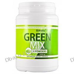 Green Mix 4W1, Spirulina Chlorella Młody Jęczmień Matcha, 300g