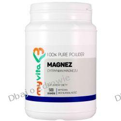 Magnez (Cytrynian Magnezu), Proszek, MyVita, 500g