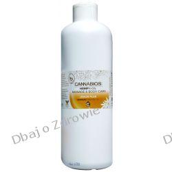 Olejek Konopny do Masażu X-OIL Lemon Cannabios, 500ml