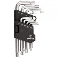 Klucze Torx T10-T50, zestaw 9 szt. 35D960 Topex