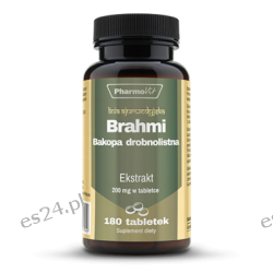 BRAHMI 4:1 200 MG 180 tabletek
