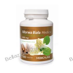 Morwa biała z cynamonem i chromem 500 mg 180 tabletek