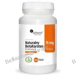Naturalny BetaKaroten 15 mg (ProWitamina A 25 000 IU) x 100 tab. vege