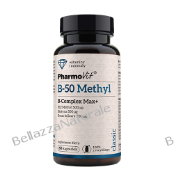 B - 50 Methyl witamina B- Complex Max+ 60 kapsułek