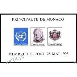 Monako 1993 Mi BL 60B ** Czesław Słania Polonika Rainer