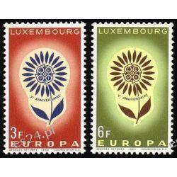 Luksemburg 1964 Mi 697-98 ** Europa Cept Kwiaty