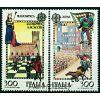 Italia 1981 Mi 1748-49 ** Europa Cept Szachy Koń