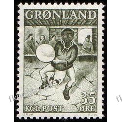 Grenlandia 1961 Mi 46 ** Folklor Taniec Muzyka