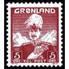 Grenlandia 1938 Mi 2 ** Król Chrystian X