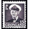 Grenlandia 1950 Mi 31 ** Król Fryderyk IX