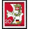 Niemcy NRF 1963 Mi 399 ** Europa Cept Mapa Ptak