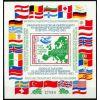 Bułgaria 1983 Mi BL 137 ** Europa Cept Gołąb Mapa