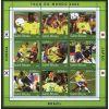 Gwinea Bissau 2001 ark 1361-69 ** Piłka Nożna Sport