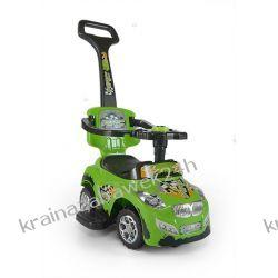 Jeździk Pojazd Happy 3 W 1 Zielony