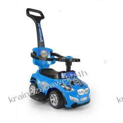 Jeździk Pojazd Happy 3 W 1 Niebieski