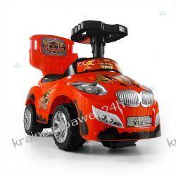 Jeździk Pojazd Happy 3 W 1 Czerwony