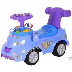 Pojazd odpychacz - samochód niebieski