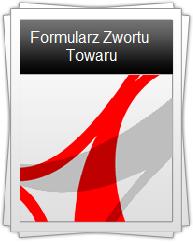 Formularz Zwrotu Towaru