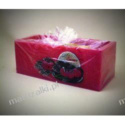 """Duży lampion """" Chocolate & Cherry"""" kolor bordo *4803"""