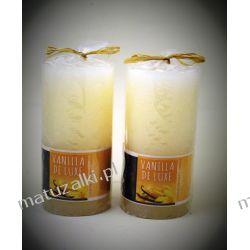 Dwie świece zapachowe VANILLA de LUXE *4805