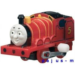 TOMEK Thomas&Friends Lokomotywa JAMES Tomy