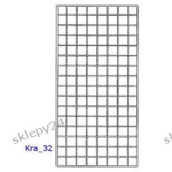 Krata Sklepowa 125x40 cm - srebrna