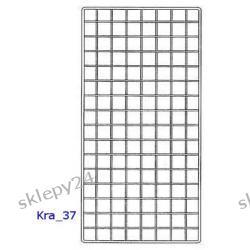 Krata Sklepowa 170x75 cm - srebrna