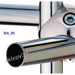 Rura chromowana 25 mm - 100 cm