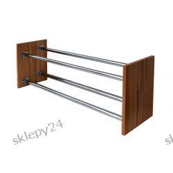 Dwupoziomowy Stojak na Obuwie - 90 cm
