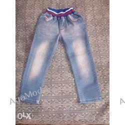 Spodnie dżinsowe wiek ok.3-4lata