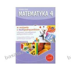 Matematyka 4. podręcznik+multibook. Dobrowolska. GWO
