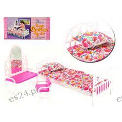 SYPIALNIA łóżko toaletka mebelki Barbie EduCORE