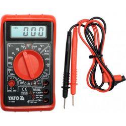 Multimetr/miernik cyfrowy, buzer YT-73080 YATO