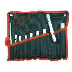 KLUCZE RUROWE ZESTAW 9 elementów PŁACHTA 6-22mm Beast 314060