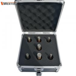 Zestaw koronek 6mmx2, 8mmx2, 10mm, 12mm, 14mm WERTEC WTAS07A