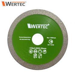 Tarcza do usuwania fugi 115x1,2x22,23mm WERTEC WTDCF1152,2