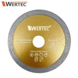 Tarcza do usuwania fugi 115x2,7x22,23mm WERTEC WTDCF1152,7