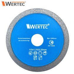 Tarcza do usuwania fugi 115x1,7x22,23mm WERTEC WTDCF1151,7