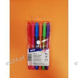 Zestaw długopisów fluo 6 kol MFP