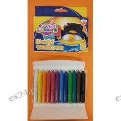 Kredki woskowe 12 kolorowe Koma-Plast